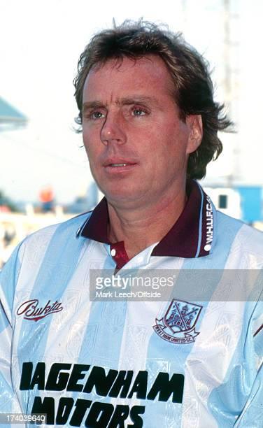 27 September 1992 Football League One Portsmouth v West Ham United West Ham manager Harry Redknapp