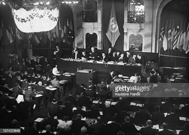 4Th Session Of The General Assembly Of Unesco In Paris On September 19Th 1949