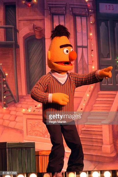 28 September 2003 Bert at the Sesame Street Live show At the Vodafone Arena Melbourne Victoria Australia