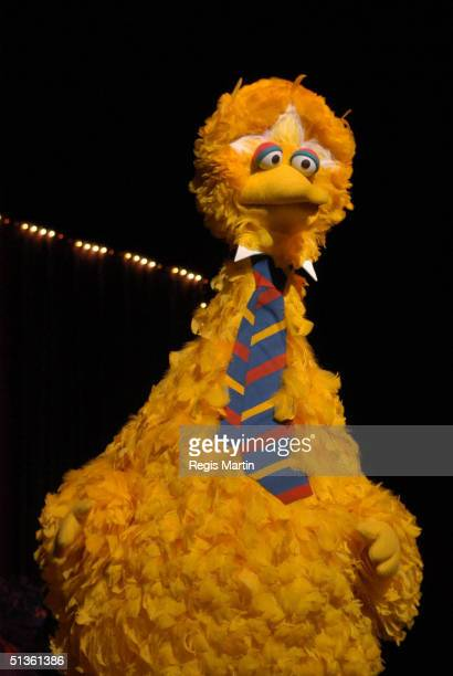 28 September 2003 Big Bird at the Sesame Street Live show At the Vodafone Arena Melbourne Victoria Australia