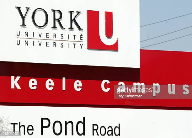 September 2007 images of ridings York University signage
