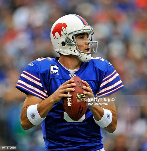 Buffalo Bills Qb Trent Edwards Stock Photos And Pictures