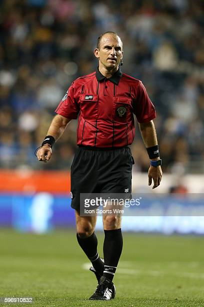 Referee Ted Unkel The Philadelphia Union hosted Sporting Kansas City at PPL Park in Chester Pennsylvania in the 2015 Lamar Hunt United States Open...