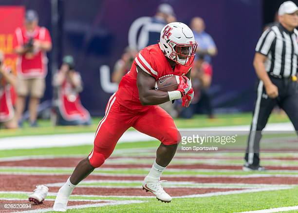 Houston Cougars cornerback Brandon Wilson during the AdvoCare Texas Kickoff football game between the Oklahoma Sooners the Houston Cougars at NRG...