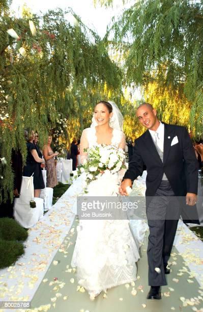 September 29 2001 file photo of Jennifer Lopez and Cris Judd