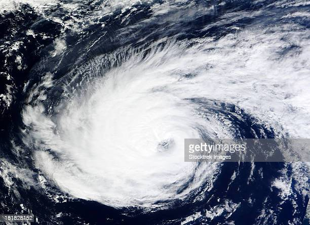 September 30, 2012 - Hurricane Nadine over the Atlantic Ocean.