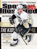 September 30 2013 Sports Illustrated Cover Pittsburgh Penguins Sidney Crosby in action vs Washington Capitals at Verizon Center NHL Season Preview...