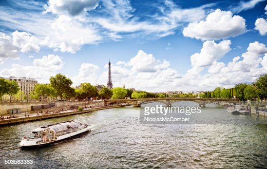 September afternoon in Paris by the Seine