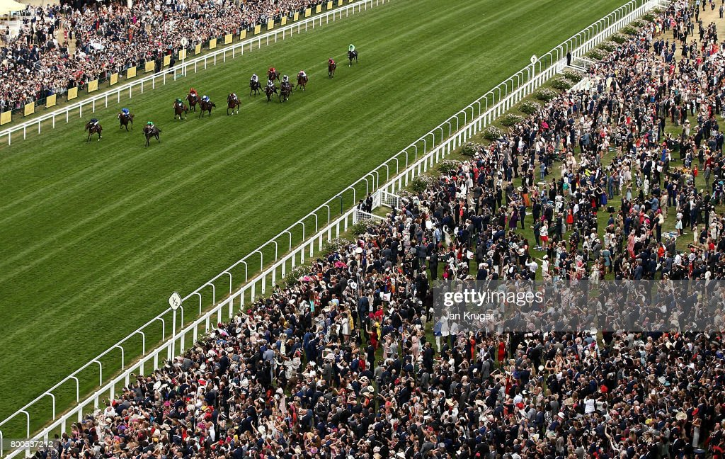 September ridden by Ryan Moore wins the Chesham Stakes on day 5 of Royal Ascot at Ascot Racecourse on June 24, 2017 in Ascot, England.