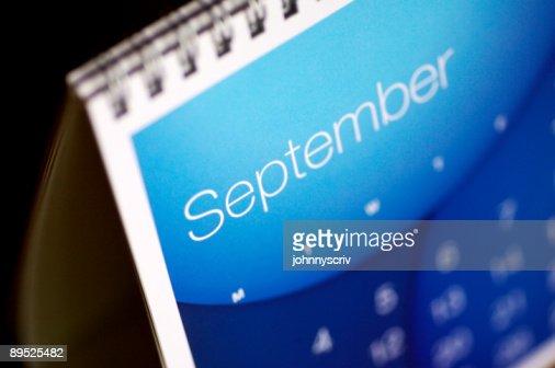 September up close...