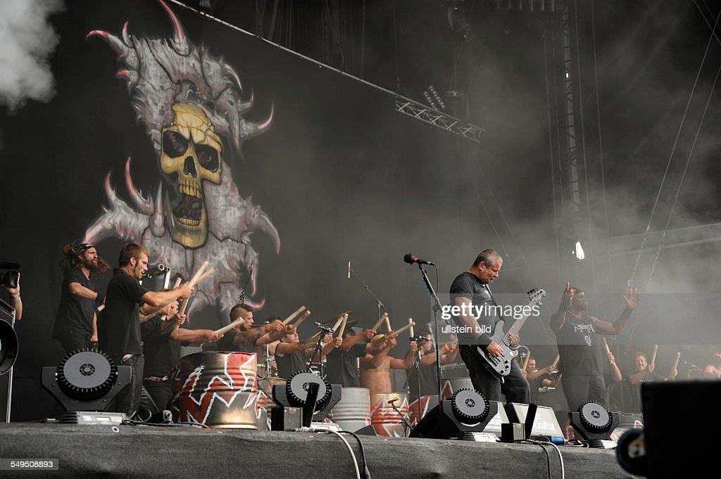 Sepultura beim Wacken Open Air 2012