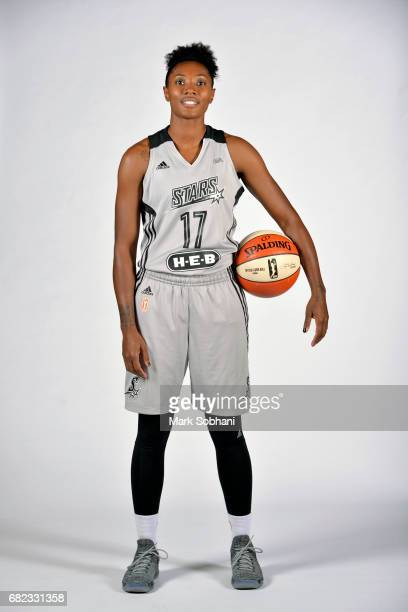 Sequoia Holmes of the San Antonio Stars poses for a photo at media day on Wednesday May 10 at the ATT Center in San Antonio Texas NOTE TO USER User...