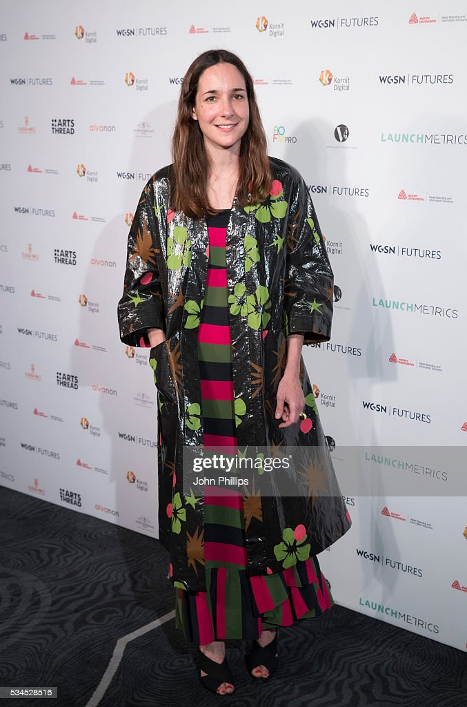 Serafina Sama arrives for the WGSN Futures Awards 2016 on May 26, 2016 in London, England.