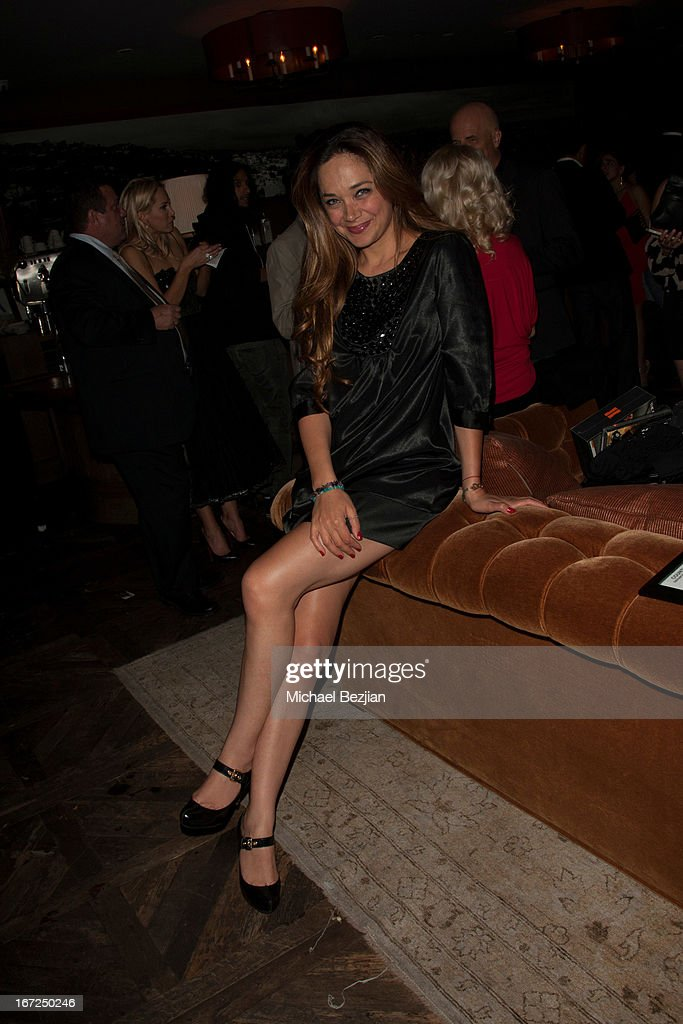 Serah Henesey attends Mutt Match LA Fundraiser at Soho House on April 22, 2013 in West Hollywood, California.