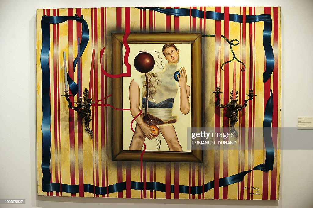 'Seras de Marfil' by Julio Galan is on display during a preview of Christie's Latin American Art auctions, May 24, 2010 in New York. Christie's will hold its Latin American Art auctions on May 26 and 27, 2010. AFP PHOTO/Emmanuel Dunand