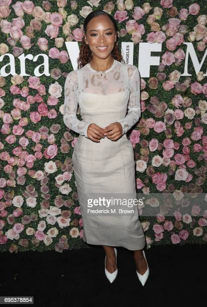 Serayah attends Max Mara Celebration of Zoey Deutch as The 2017 Women In Film Max Mara Face of The Future Award Recipient at Chateau Marmont on June...