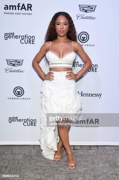 Serayah attends the amfAR generationCURE Solstice 2017 at Mr Purple on June 20 2017 in New York City