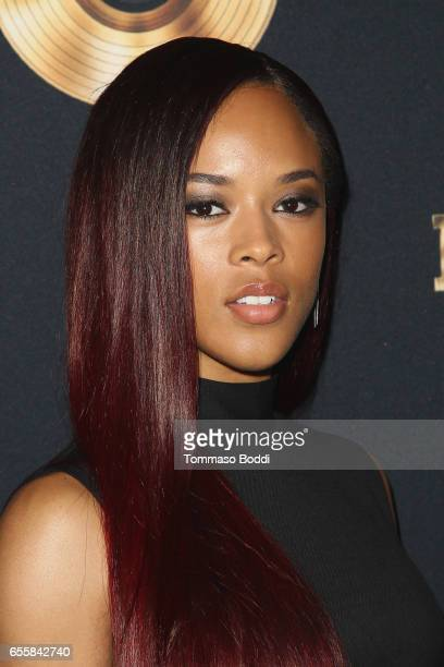 Serayah attends the Spring Premiere Of FOX's 'Empire' at Pacific Theatres at The Grove on March 20 2017 in Los Angeles California