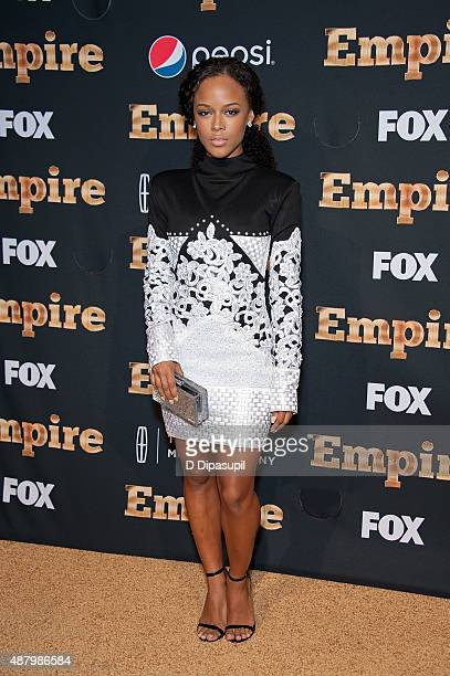 Serayah McNeill attends the 'Empire' Series Season 2 New York Premiere at Carnegie Hall on September 12 2015 in New York City