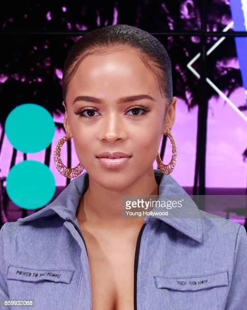 Serayah visits the Young Hollywood Studio on October 9 2017 in Los Angeles California