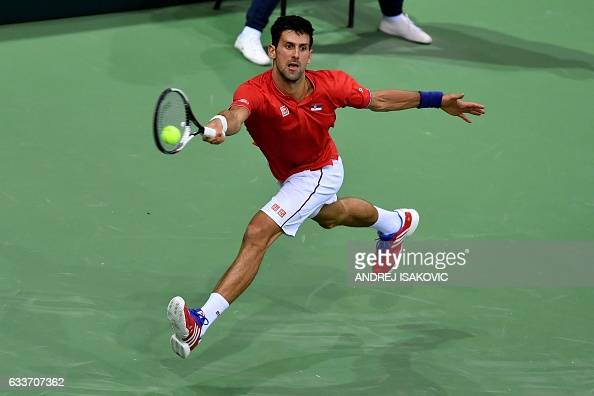 TENNIS-DAVIS-SRB-RUS : News Photo