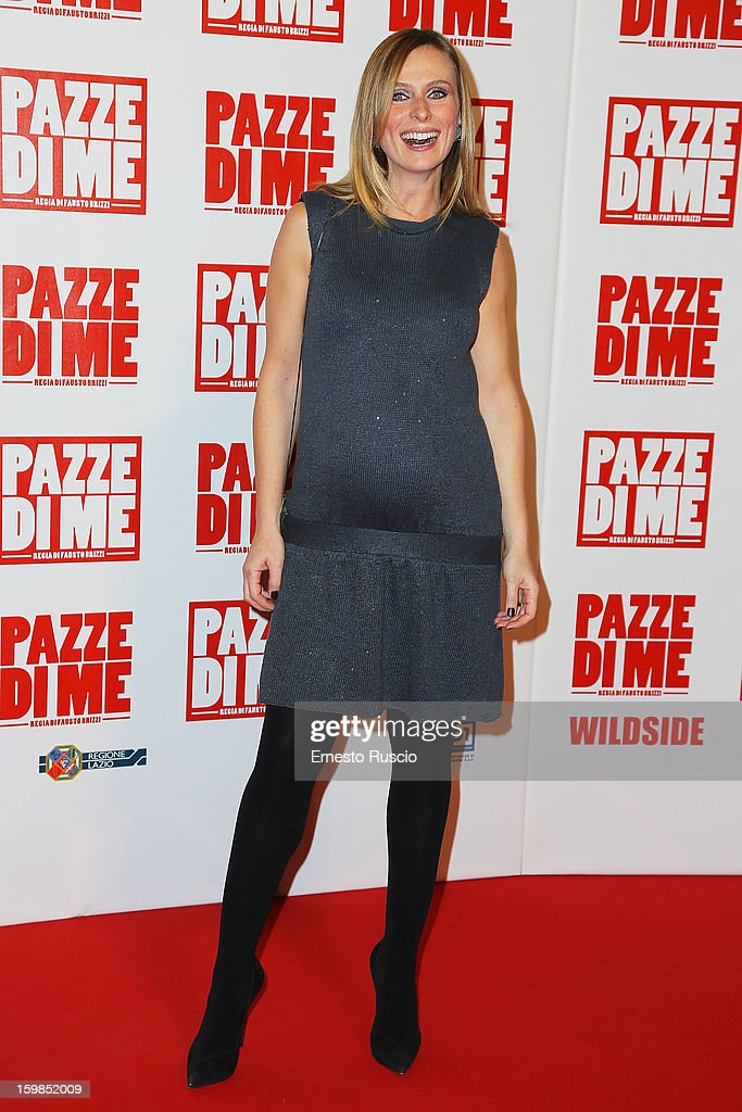 Serena Autieri attends the 'Pazze di Me' premiere at Teatro Sistina on January 21, 2013 in Rome, Italy.