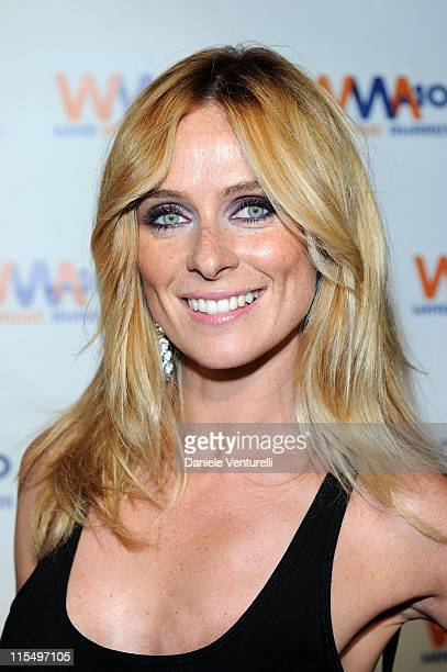 ACCESS *** Serena Autieri attends the Wind Music Awards Backstage at the Arena of Verona on May 29 2010 in Verona Italy