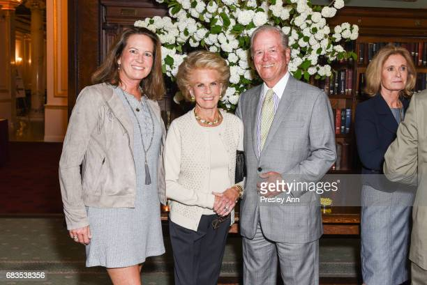 Serena Bowman Kitty McKnight and Bill McKnight attend Audrey Gruss' Hope for Depression Research Foundation Dinner with Author Daphne Merkin at The...