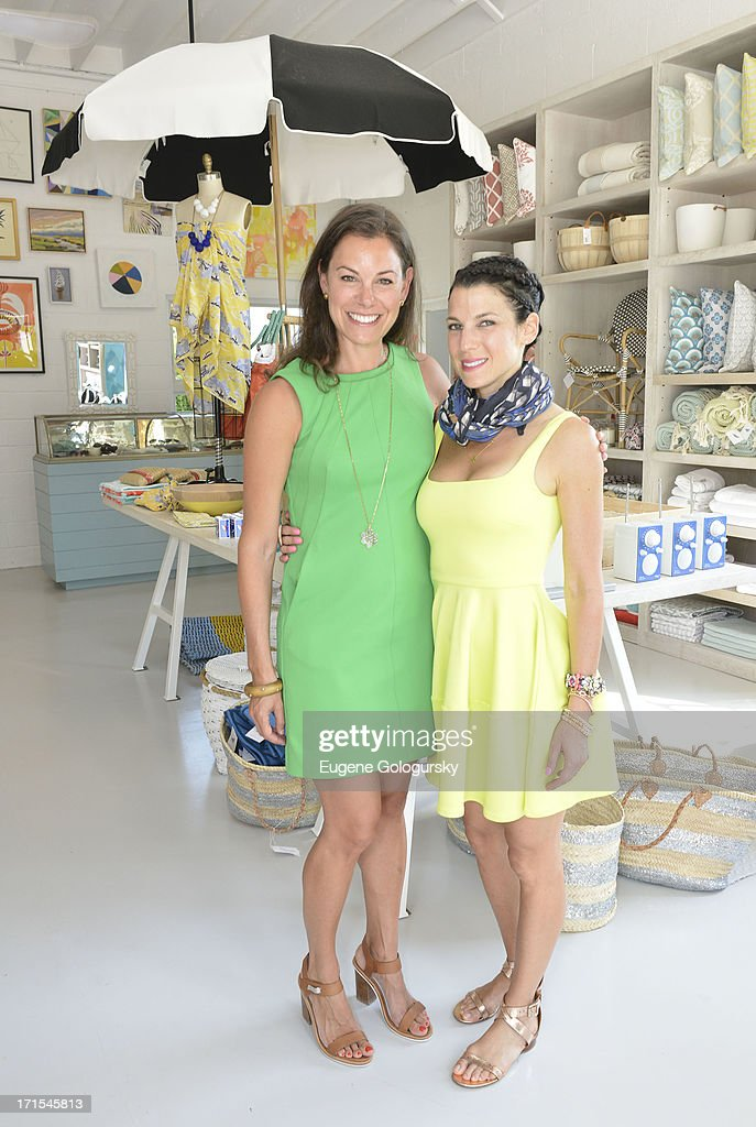 Serena Dugan and Jessica Seinfeld attend the Serena & Lily Host Private Shopping Event to Benefit Baby Buggy at Its Hamptons Store on June 26, 2013 in Wainscott, New York.