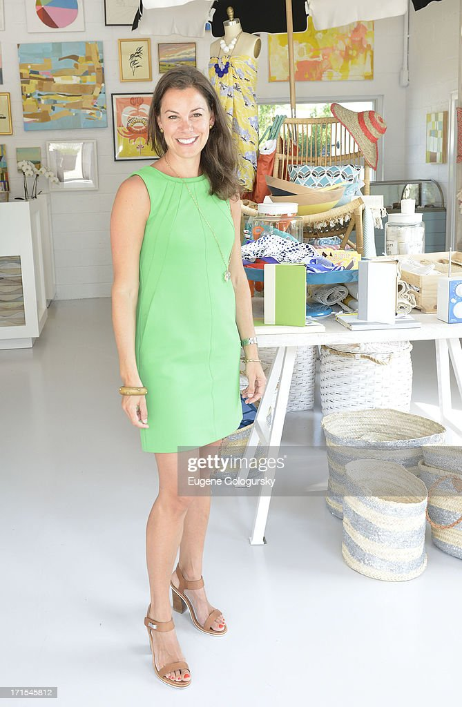 Serena Dugan attends the Serena & Lily Host Private Shopping Event to Benefit Baby Buggy at Its Hamptons Store on June 26, 2013 in Wainscott, New York.