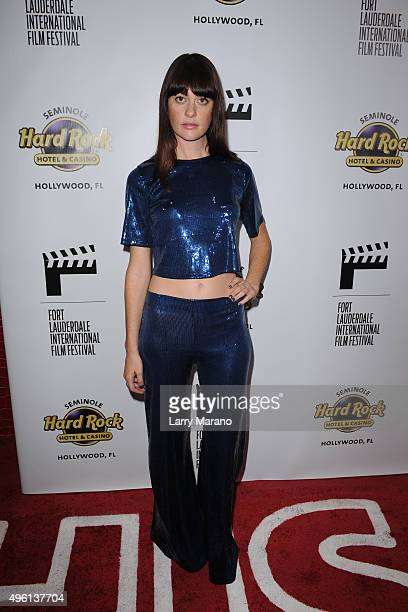 Serena Hendrix attends the Fort Lauderdale International Film Festival Opening Night at Seminole Hard Rock Hotel on November 6 2015 in Hollywood...