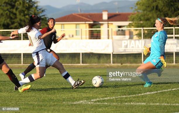 Serena Landa of Italy U16 in action during the 2nd Female Tournament 'Delle Nazioni' final match between Italy U16 and USA U16 on April 29 2017 in...