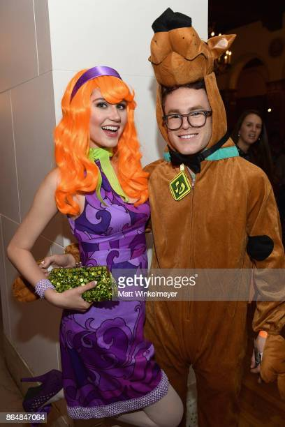 Serena Laurel and Justin Tinucci at the Dream Halloween 2017 Costume Party Benefitting Starlight Children's Foundation presented by Michaels and...