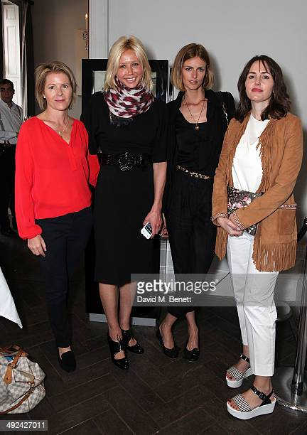 Serena Linley Britt Lintner Jacquetta Wheeler and Tania Fares attend a private lunch hosted by Sacha Forbes in association with Sybarite jewellery at...