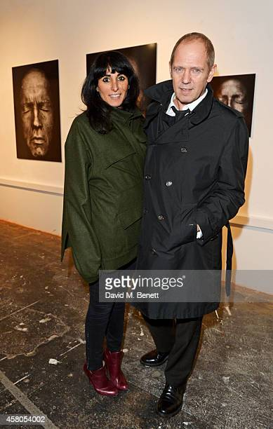Serena Rees and Paul Simonon attend the Day of the Dead Festival produced by the Mexican Embassy in the UK and supported by Jose Cuervo at Oxo Tower...