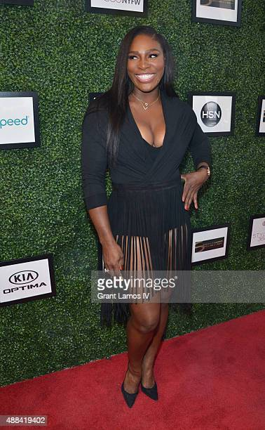Serena Willams attends the Serena Williams Signature Statementby HSN show during Spring 2016 Style360 on September 15 2015 in New York City