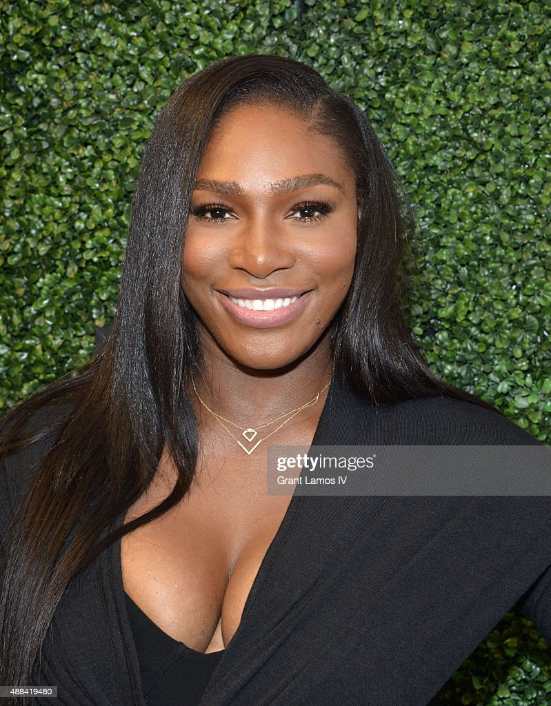 Serena Willams attends the <a gi-track='captionPersonalityLinkClicked' href=/galleries/search?phrase=Serena+Williams&family=editorial&specificpeople=171101 ng-click='$event.stopPropagation()'>Serena Williams</a> Signature Statement by HSN  show during Spring 2016 Style360 on September 15, 2015 in New York City.