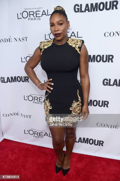 Serena Williams attends Glamour's 2017 Women of The Year Awards at Kings Theatre on November 13 2017 in Brooklyn New York