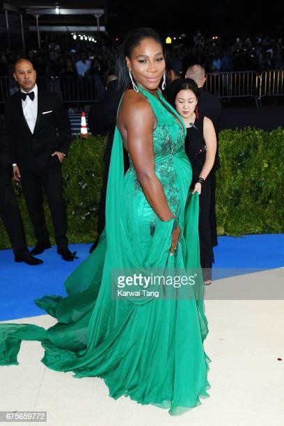 Serena Williams attends 'Rei Kawakubo/Comme des Garcons Art Of The InBetween' Costume Institute Gala at Metropolitan Museum of Art on May 1 2017 in...
