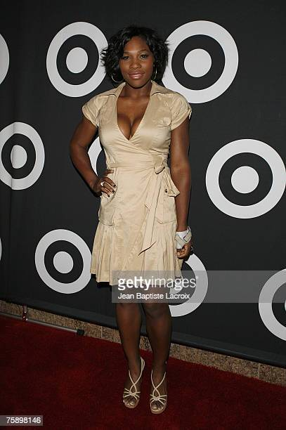 Serena Williams attends Target Hosts Common's Finding Forever Album Release Event at One's on July 31 2007 in Los Angeles California