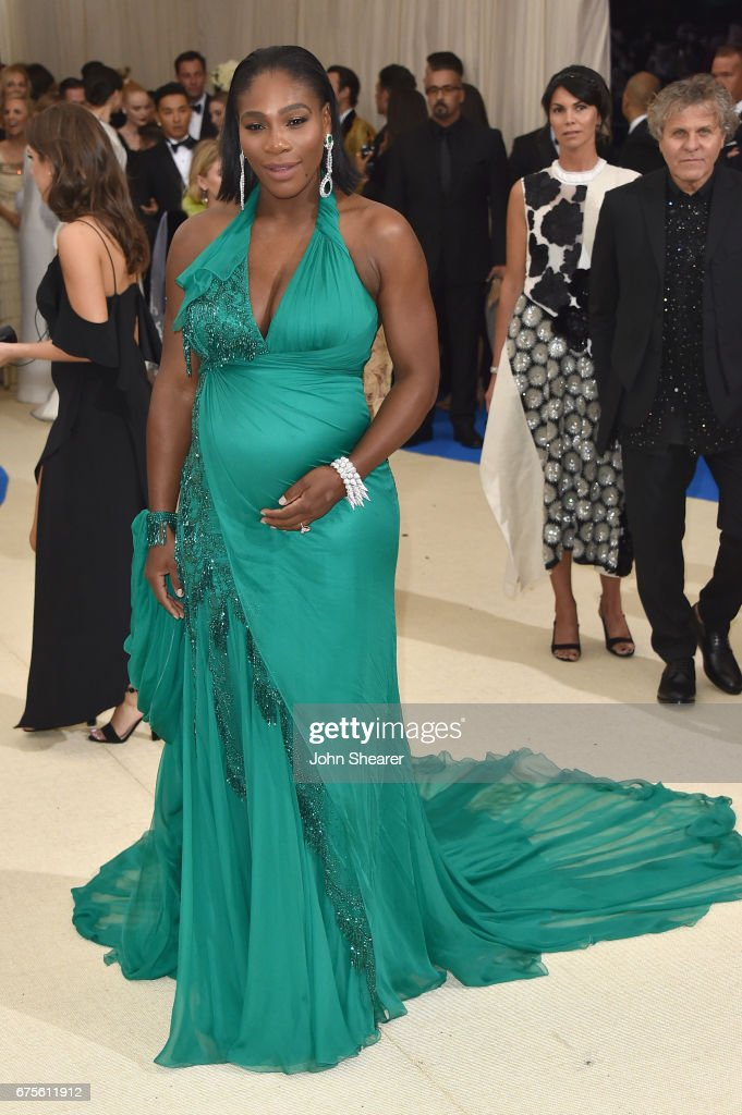 Serena Williams attends the 'Rei Kawakubo/Comme des Garcons: Art Of The In-Between' Costume Institute Gala at Metropolitan Museum of Art on May 1, 2017 in New York City.
