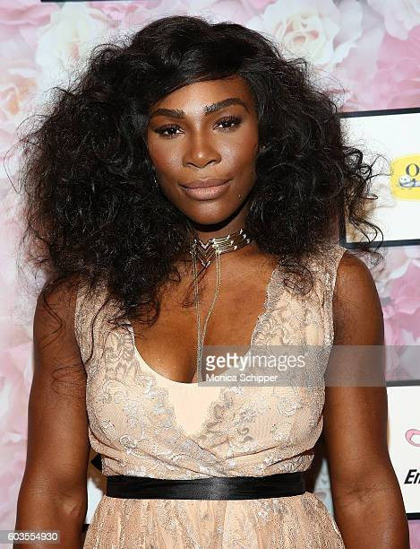 Serena Williams attends the Serena Williams Signature Statement Collection By HSN during Style360 Fashion Week at Metropolitan West on September 12...