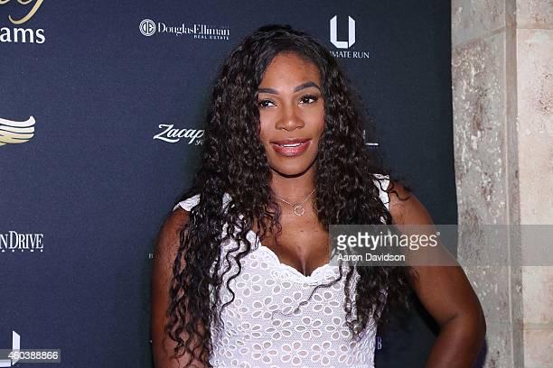 Serena Williams attends the Ultimate Run VIP KickOff on December 12 2014 in Miami Beach Florida
