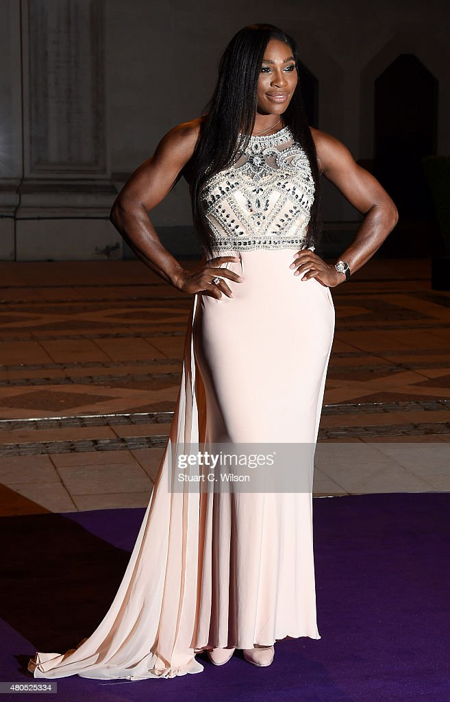<a gi-track='captionPersonalityLinkClicked' href=/galleries/search?phrase=Serena+Williams&family=editorial&specificpeople=171101 ng-click='$event.stopPropagation()'>Serena Williams</a> attends the Wimbledon Champions Dinner at The Guildhall on July 12, 2015 in London, England.
