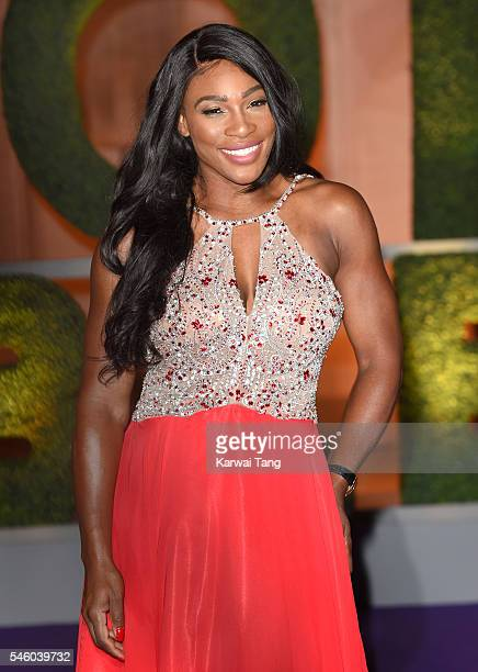 Serena Williams attends the Wimbledon Winners Ball at The Guildhall on July 10 2016 in London England