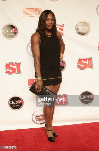 Serena Williams during Super Bowl XLI Club SI Sports Illustrated Super Bowl XLI Party at The Fifth in Miami Beach Florida United States