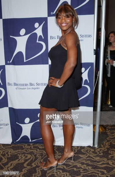 Serena Williams during The 2003 Rising Stars Gala Presented By Big Brothers Big Sisters Los Angeles at Century Plaza Hotel in Century City California...