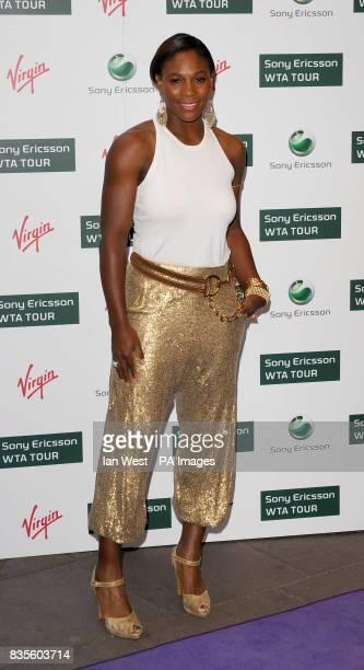 Serena Williams during the Ralph Lauren/Sony Ericsson WTA Tour preWimbledon Party at the Kensington Roof Gardens in London