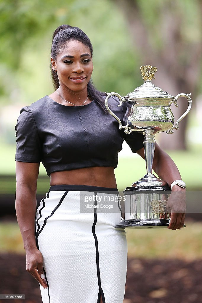 Williams (IA) United States  city photos gallery : Serena Williams of the United States holds the Daphne Akhurst Memorial ...