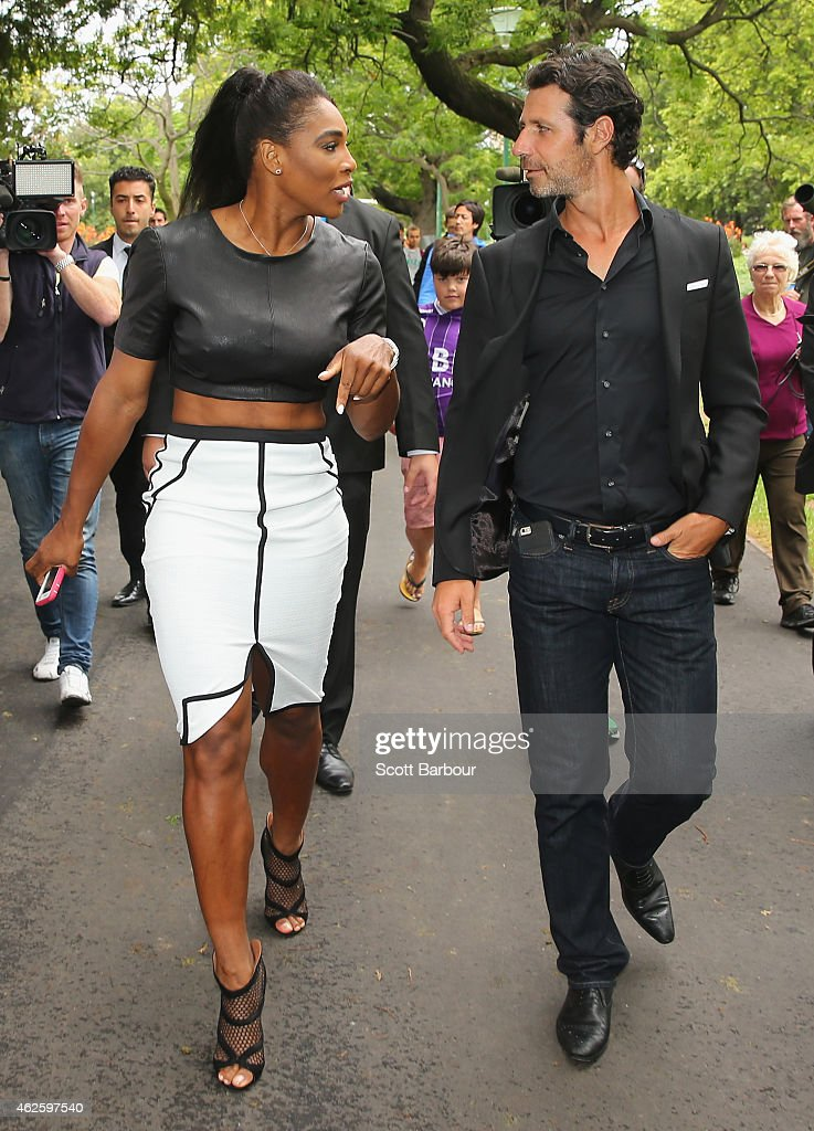 Williams (CA) United States  city photo : Serena Williams of the United States leaves with her partner and coach ...
